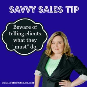 Client Retention, Savvy Selling, Phrases that repel clients,