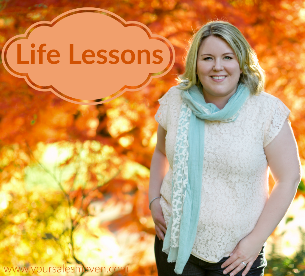 Sales Maven, Gratitude, Thankful, Life Lessons