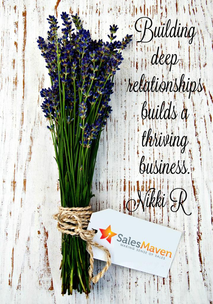 Networking, Savvy Sales tip, Nikki Rausch, Sales Maven