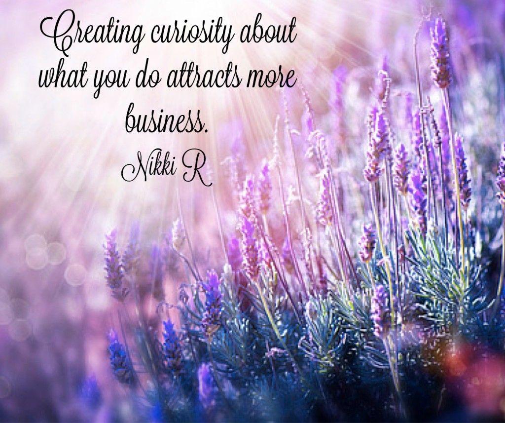 create curiosity