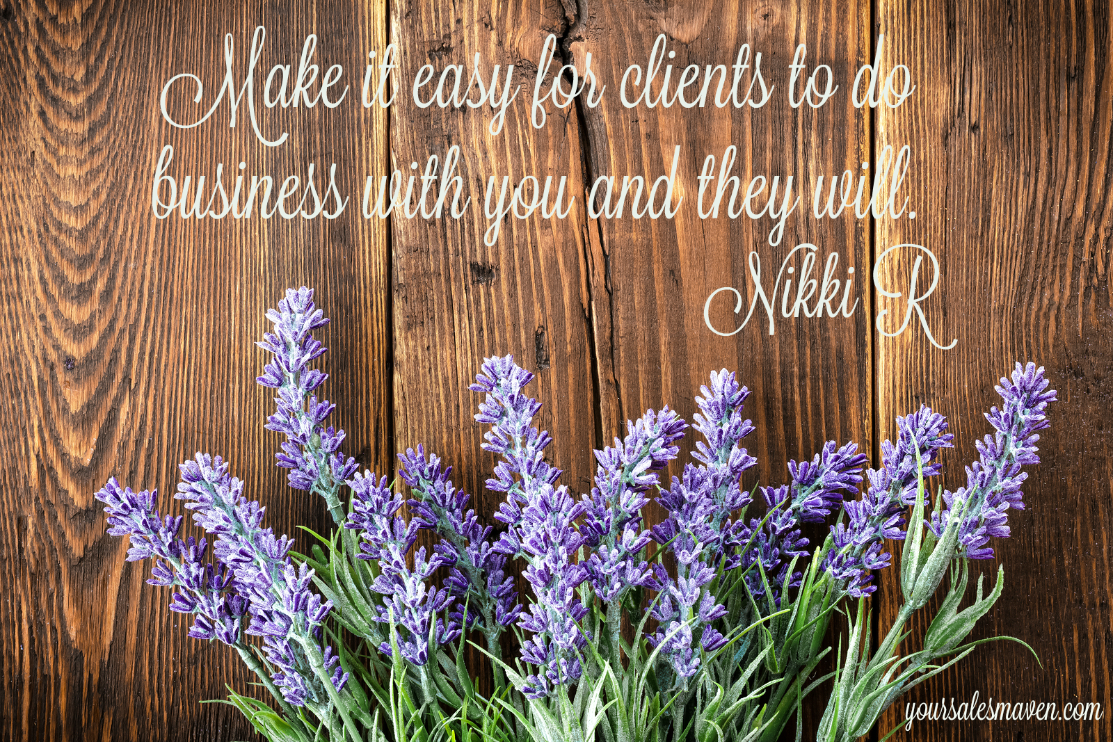Sales Maven Blog, Nikki Rausch, Sales Tips, Client Relationships