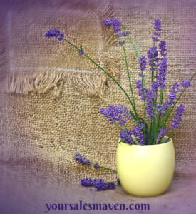 sales maven blog, lavender, nikki rausch