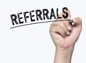 Maximizing Referrals