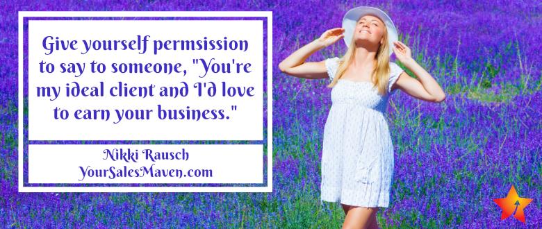prospecting, sales maven, Nikki Rausch, sales tips, sales training