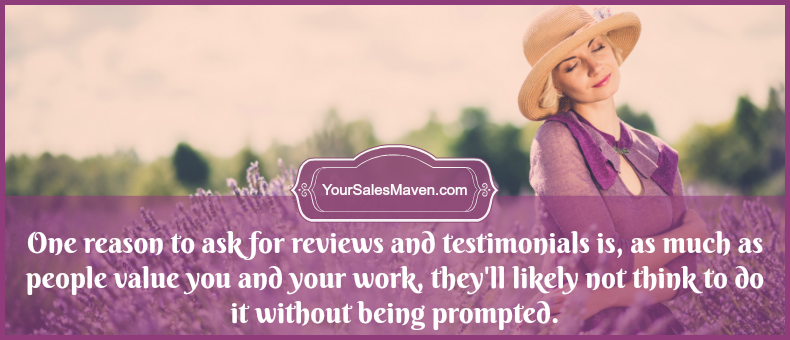 reviews, testimonials, sales, Sales Maven
