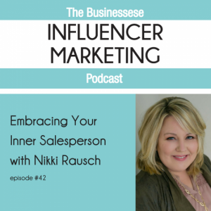 podcast, interview with Nikki Rausch of Sales Maven,