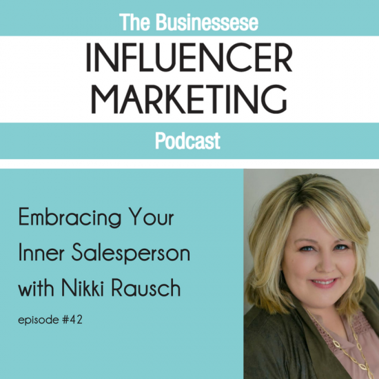 Embracing Your Inner Salesperson