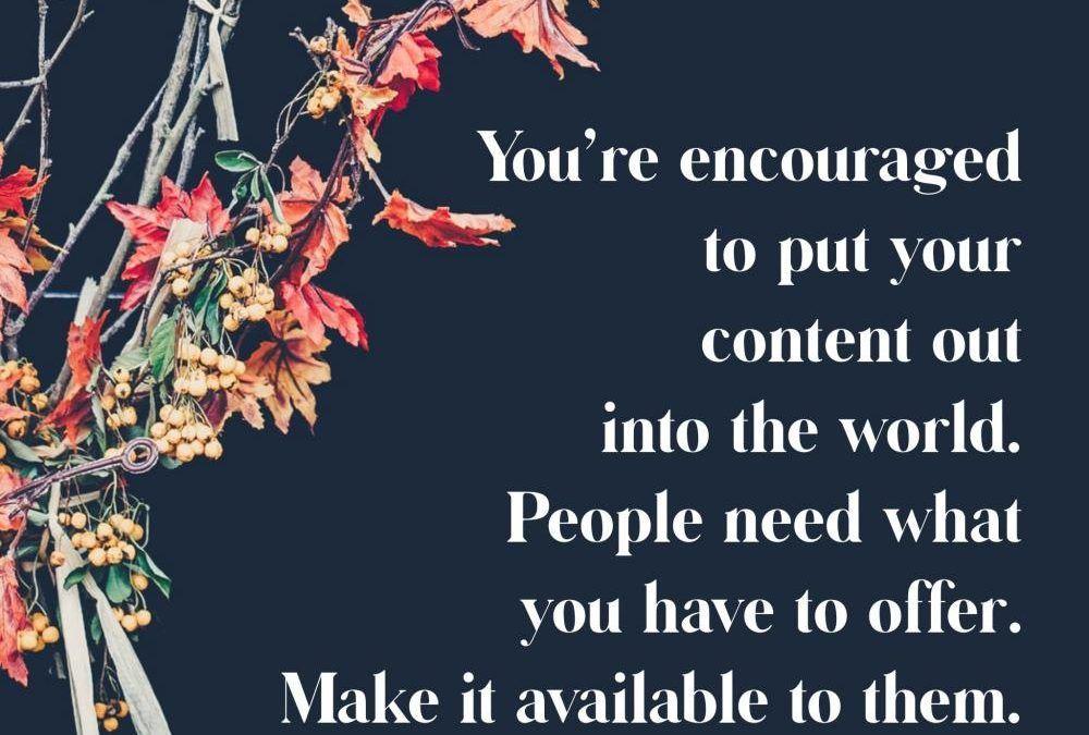 Content Creation For Revenue Generation