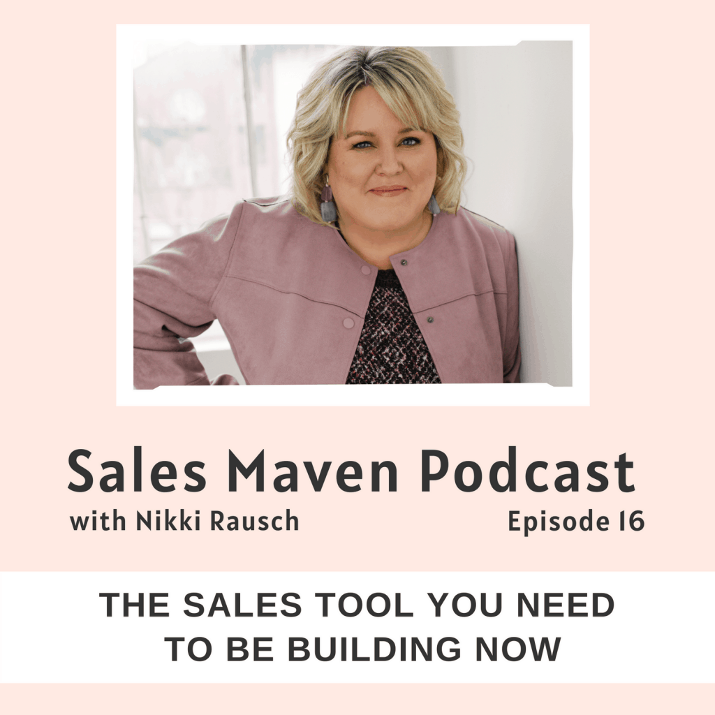 The sales tool you need to be building right now