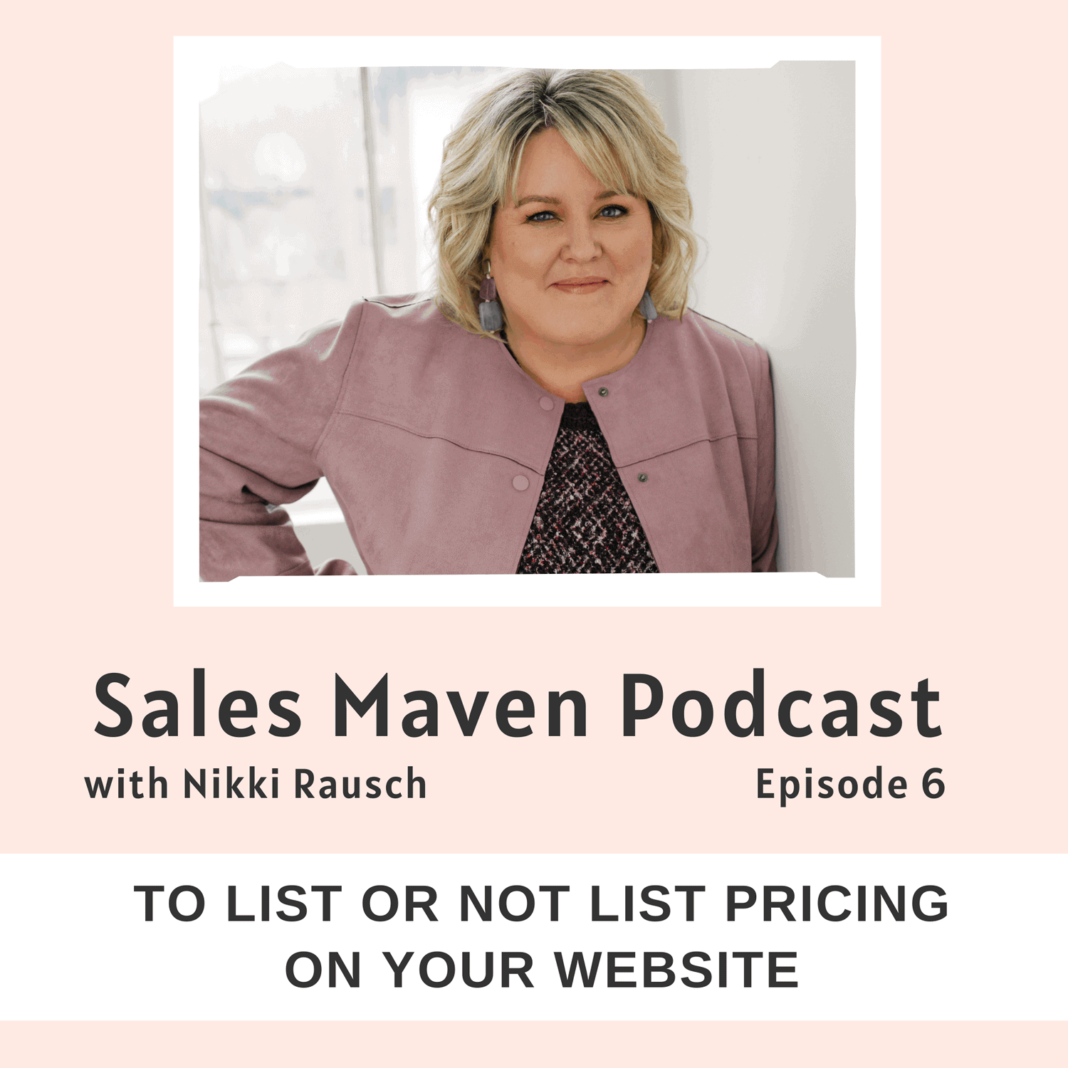To list or not list pricing on your website