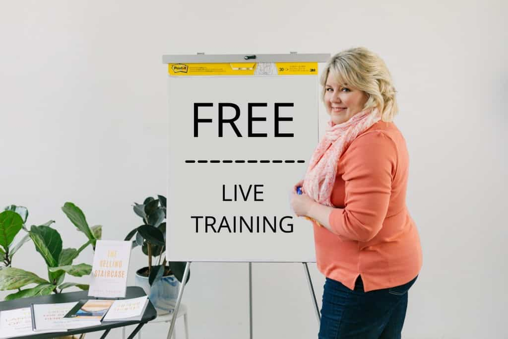 Free webinar - sales training from Nikki Rausch with Sales Maven