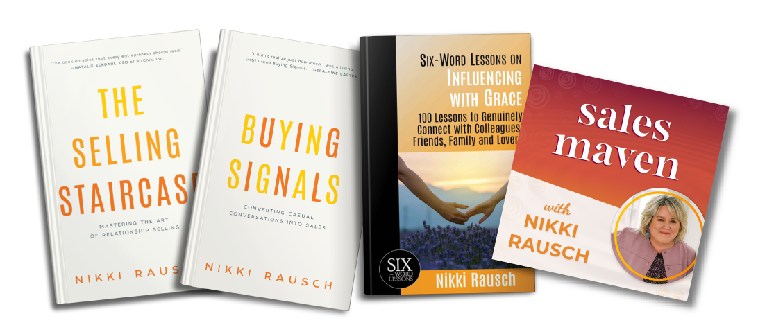 Sales Maven books and podcast