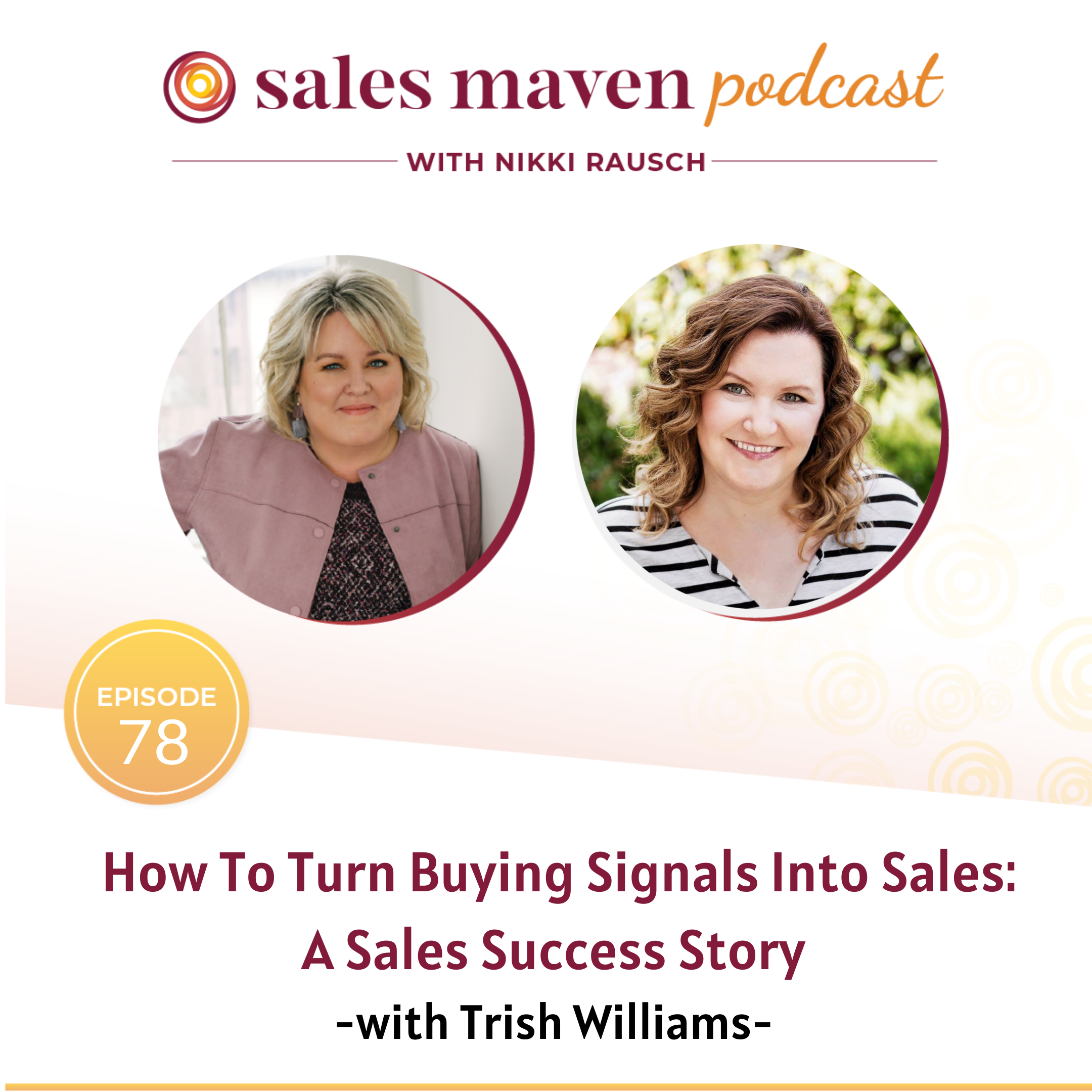 buying signals into sales